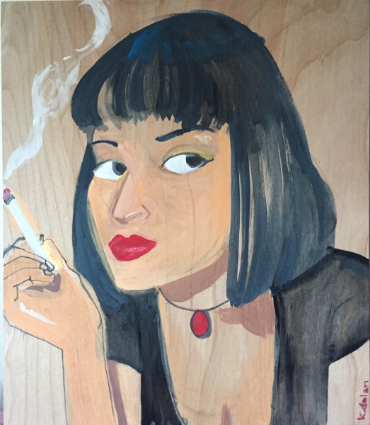 Mrs. Mia Wallace portrait